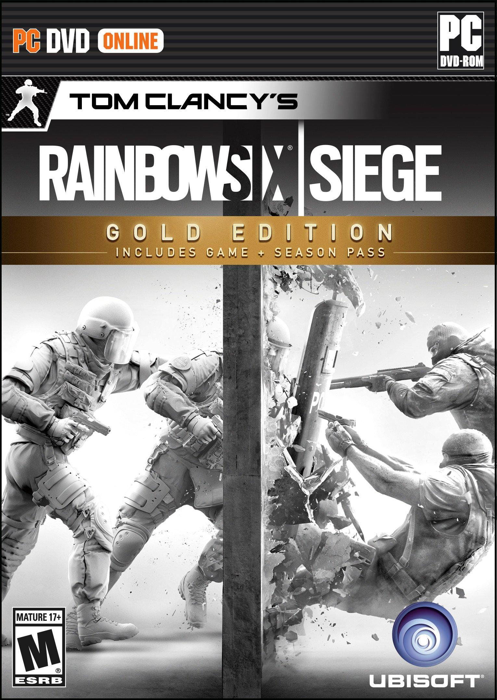 Tom Clancy S Rainbow Six Siege Gold Edition Pc Gamestop