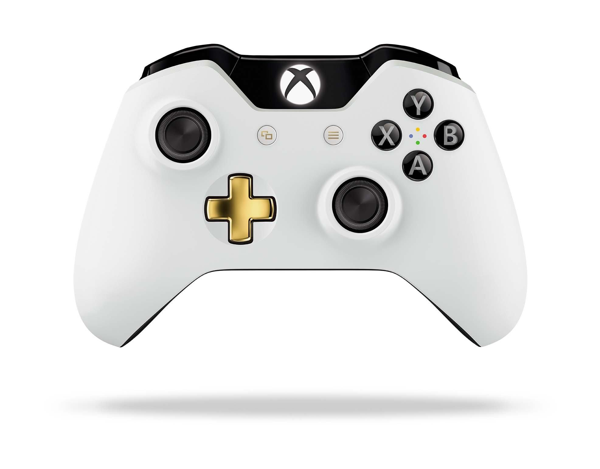 Xbox One Lunar White Wireless Controller Only At Gamestop