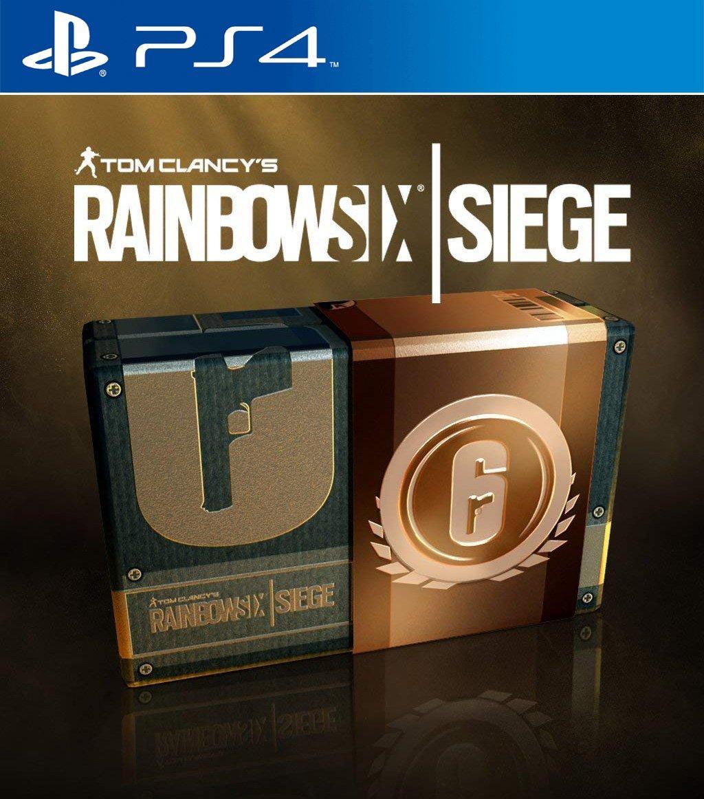 Tom Clancy S Rainbow Six Siege 600 Credits Playstation