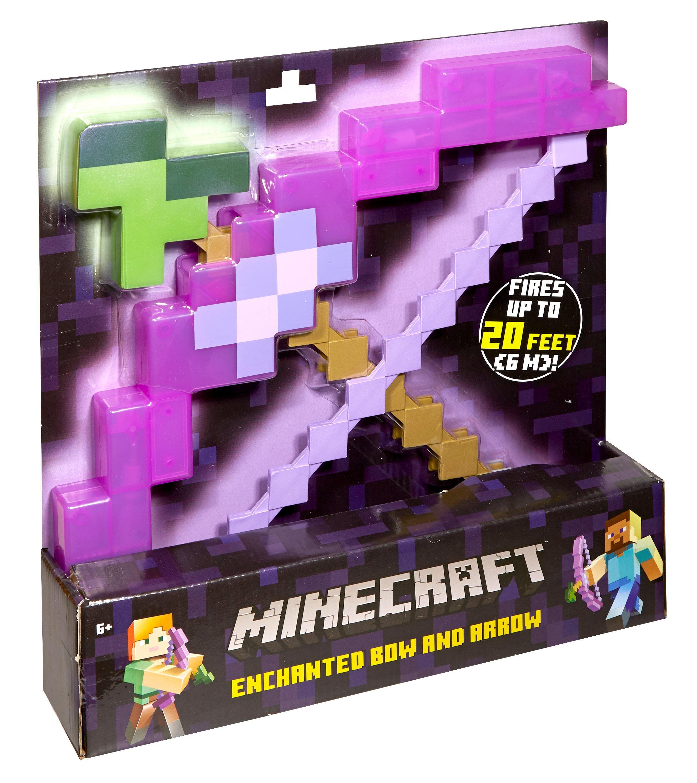 Minecraft Enchanted Bow And Arrow Gamestop