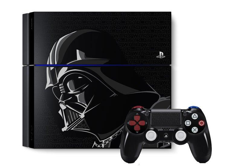 Trade In Playstation 4 500gb Star Wars Darth Vader Console