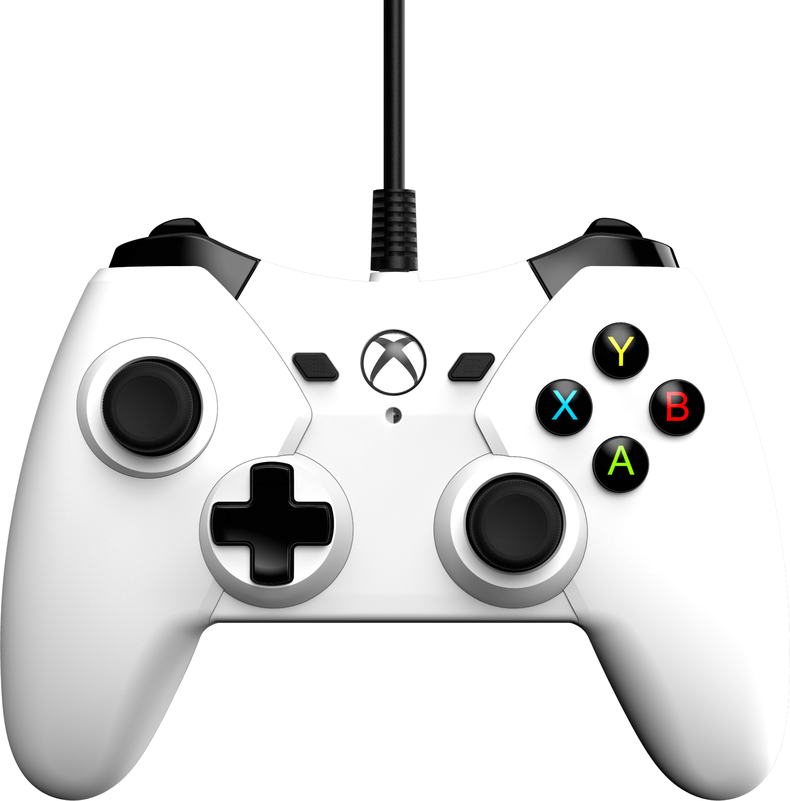 Xbox One White Wired Controller Xbox One Gamestop