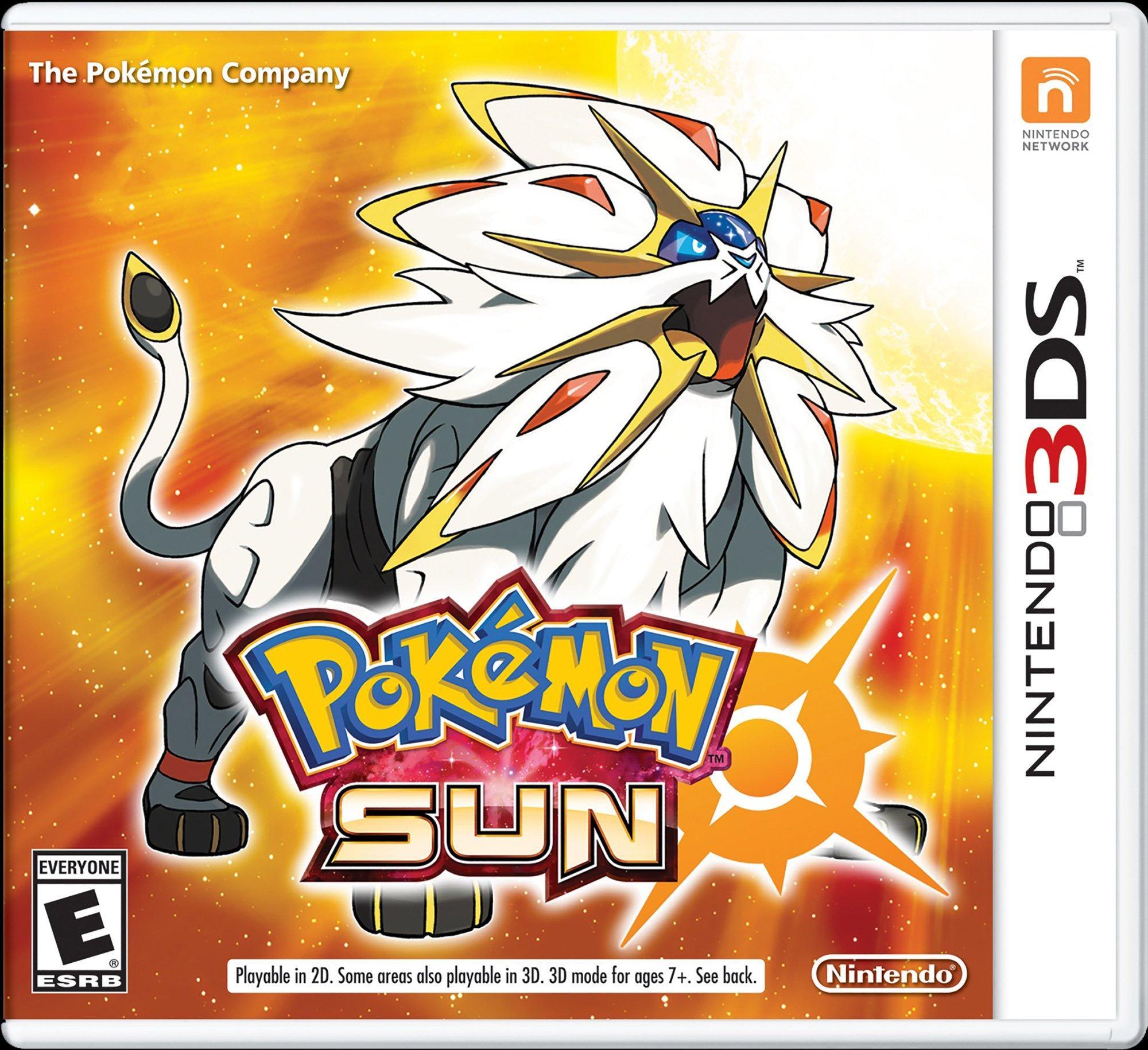 Pokemon Sun Nintendo 3ds Gamestop