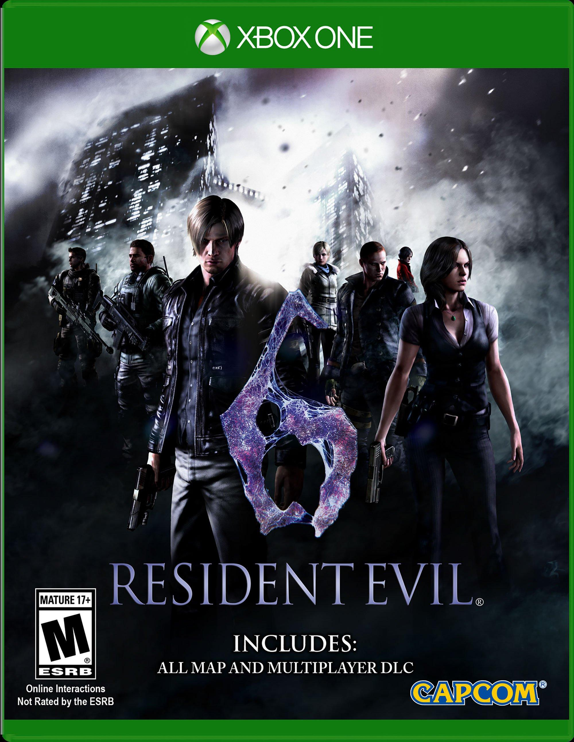 Resident Evil 6 Hd Xbox One Gamestop