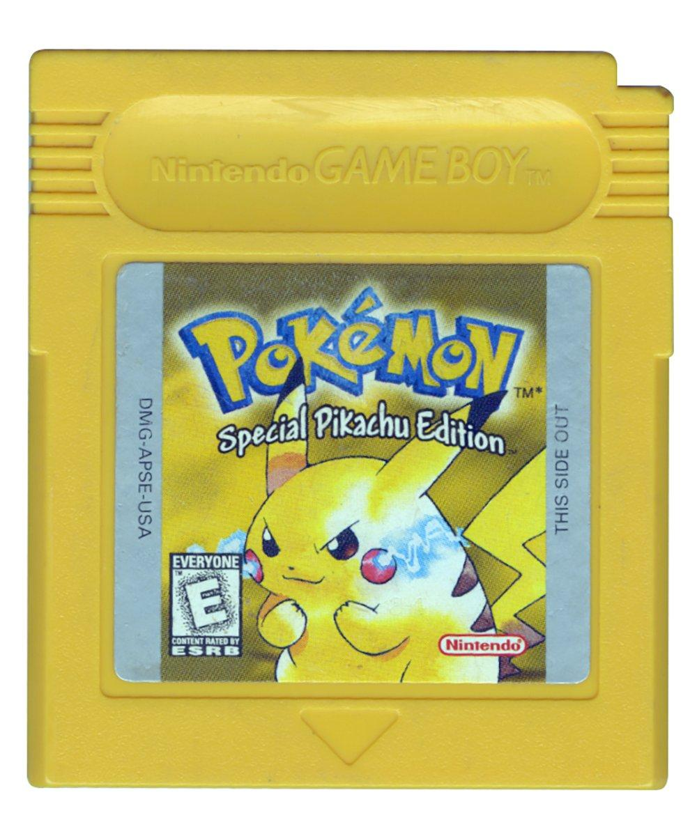 Trade In Pokemon Yellow Version Special Pikachu Edition