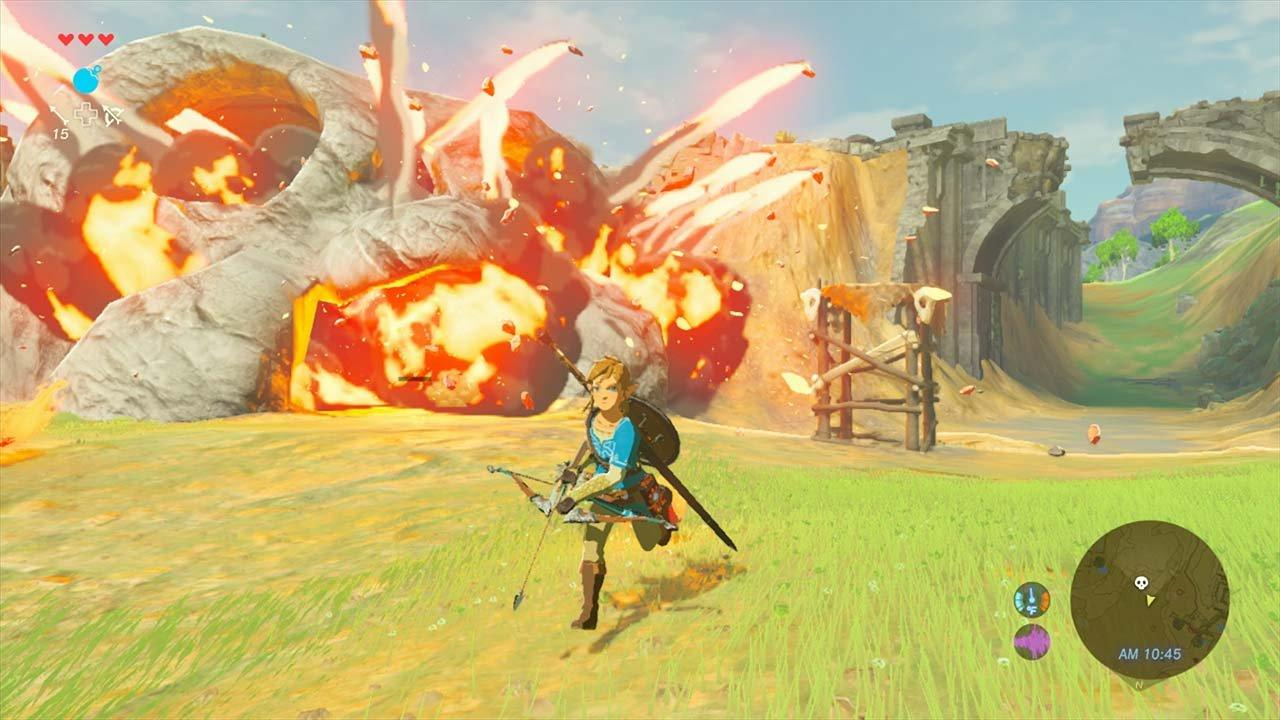 The Legend Of Zelda Breath Of The Wild With Explorer S