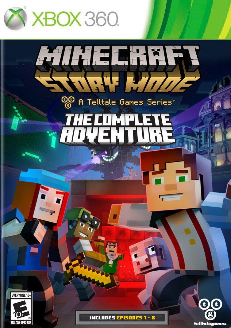 Minecraft Story Mode Complete Adventure Xbox 360