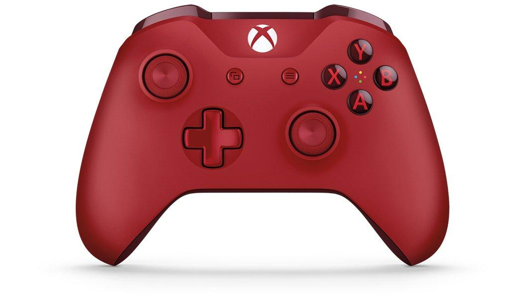 Xbox One Red Wireless Controller Xbox One Gamestop