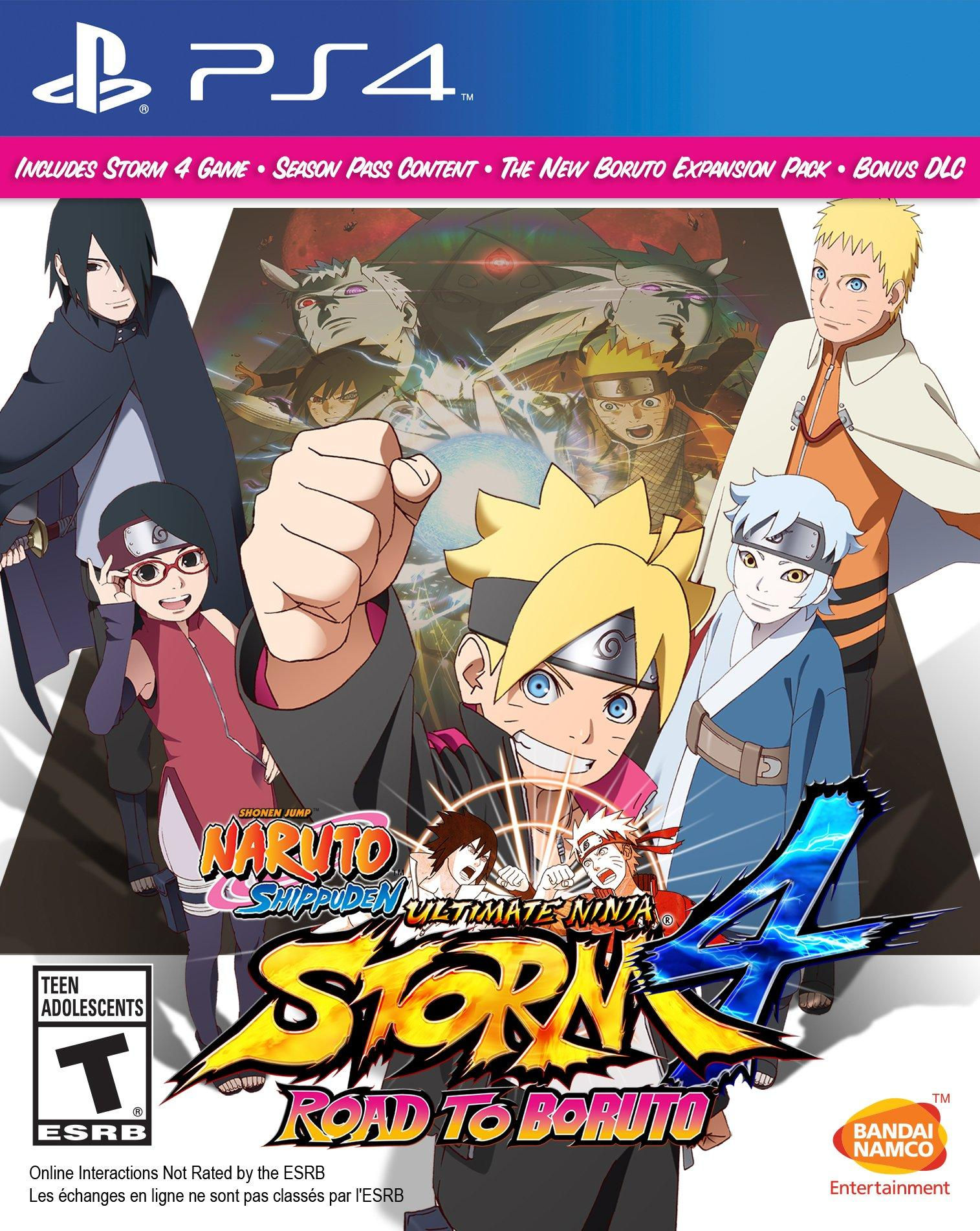 Naruto Ultimate Ninja Storm 4 Ps4 : naruto, ultimate, ninja, storm, Naruto, Shippuden, Ultimate, Ninja, Storm, Boruto, PlayStation, GameStop