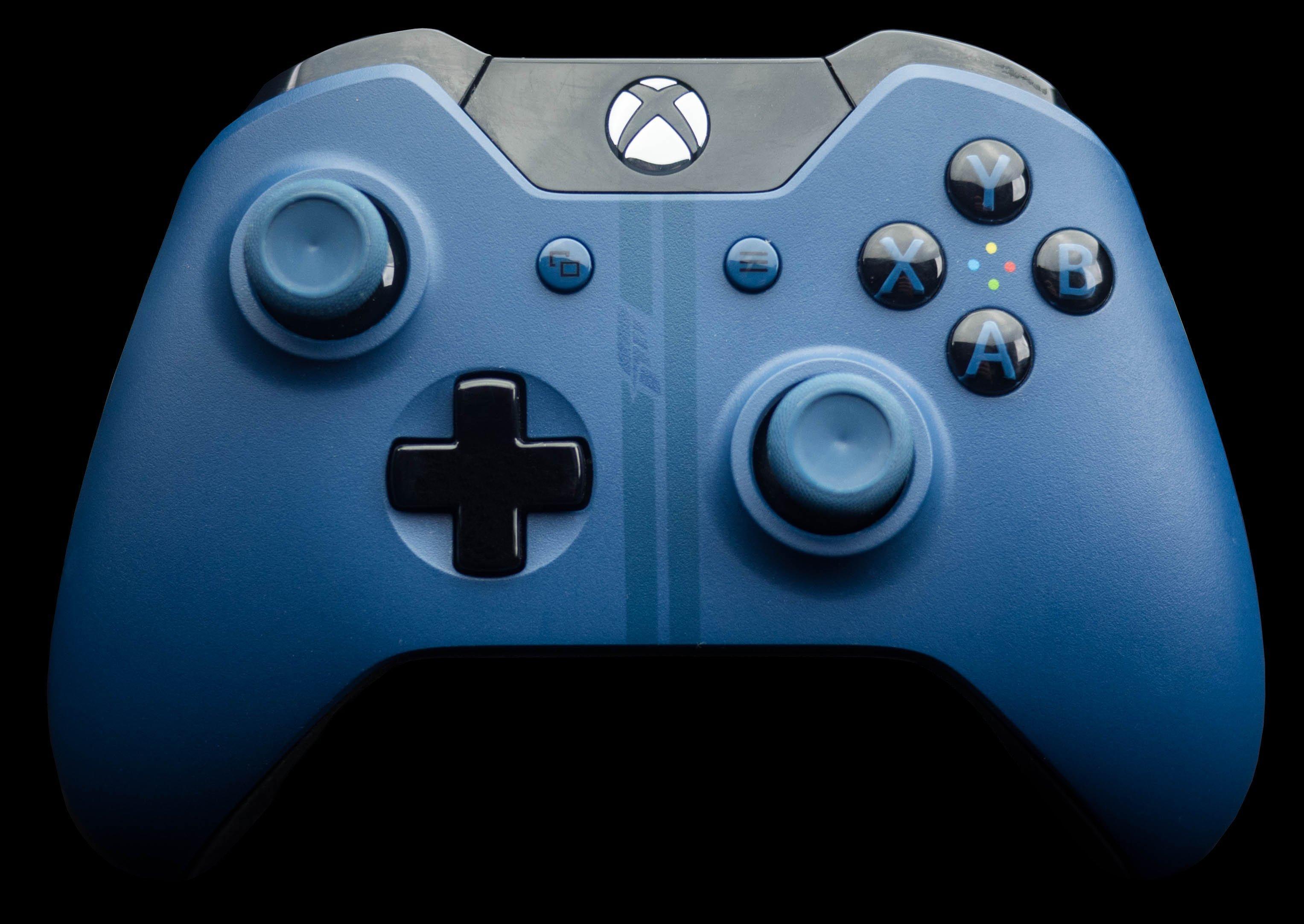 Microsoft Xbox One Forza Blue Wireless Controller Xbox