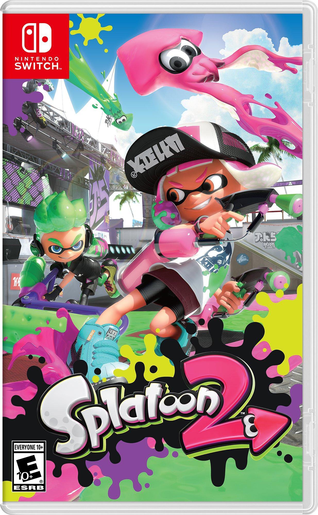 Splatoon 2 Nintendo Switch Gamestop