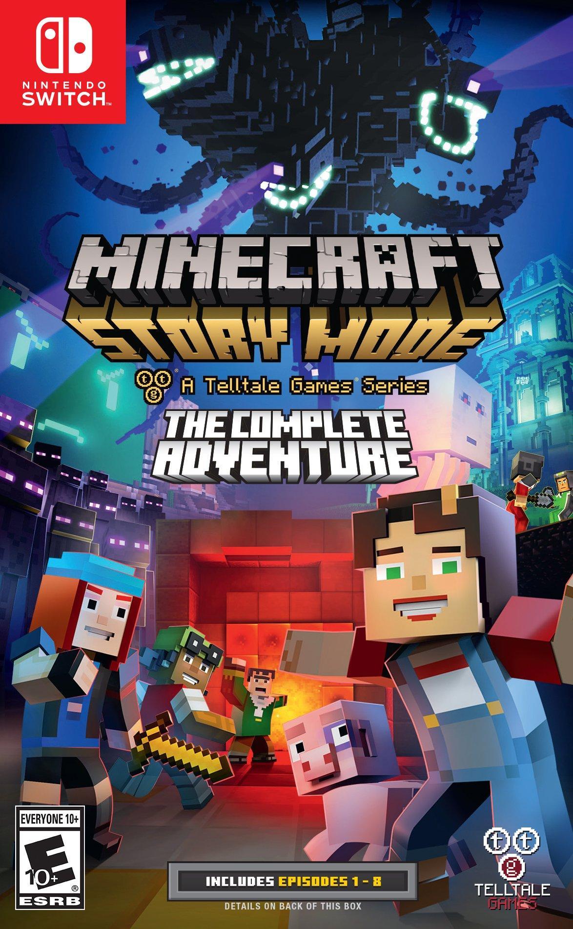 Minecraft Story Mode The Complete Adventure Nintendo