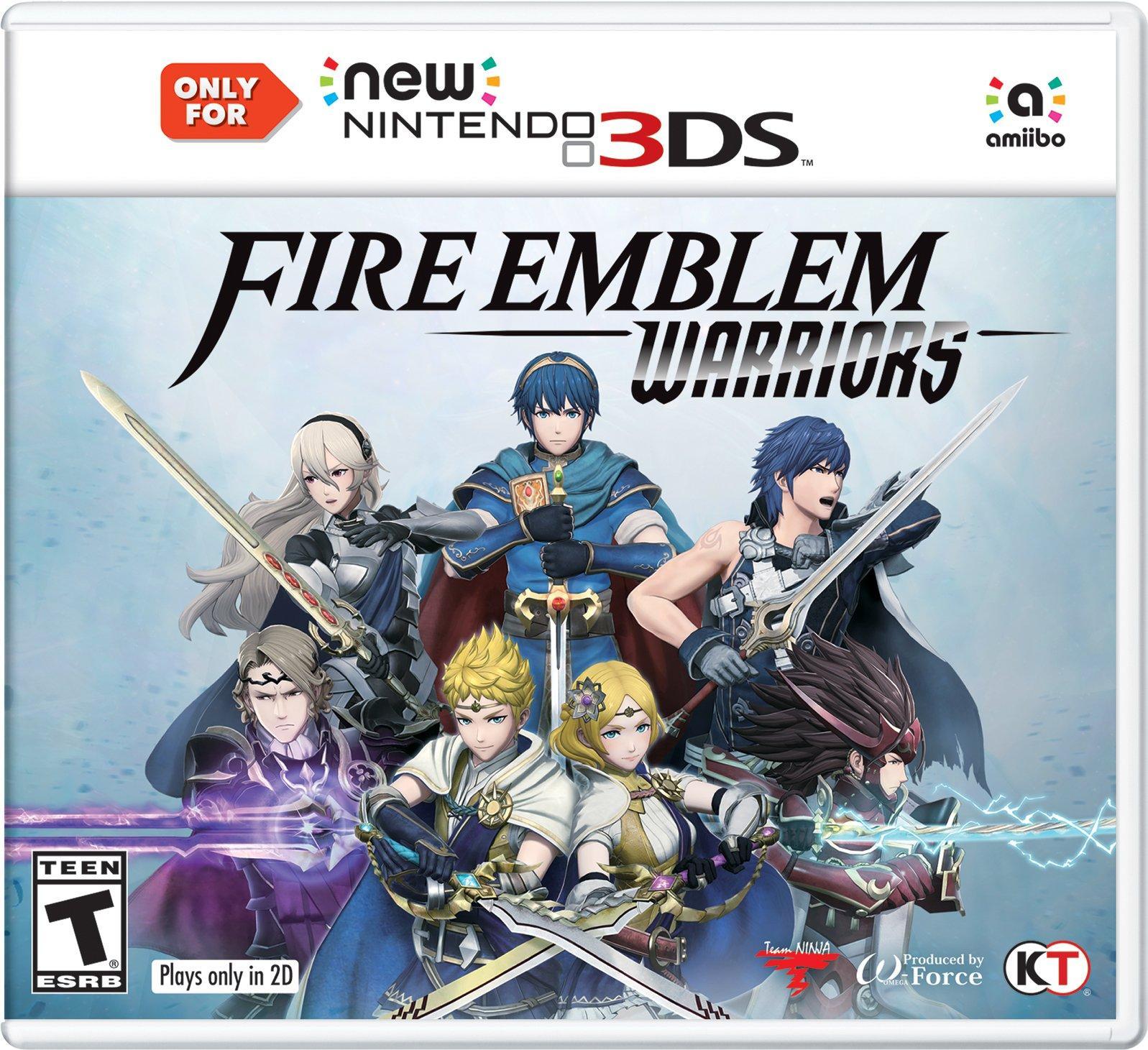 Fire Emblem Warriors Nintendo 3ds Gamestop