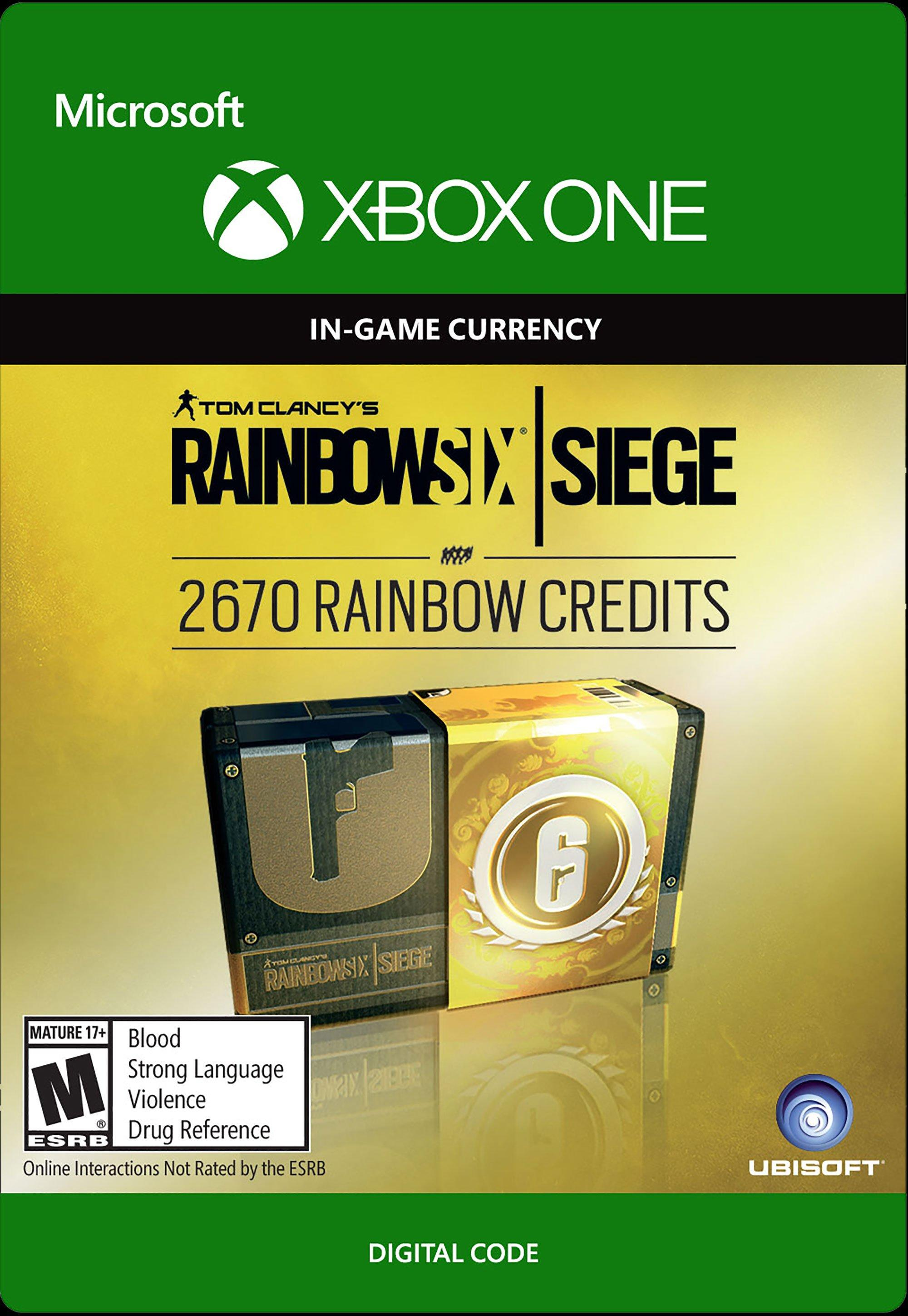 Tom Clancy S Rainbow Six Siege Currency Pack 2670