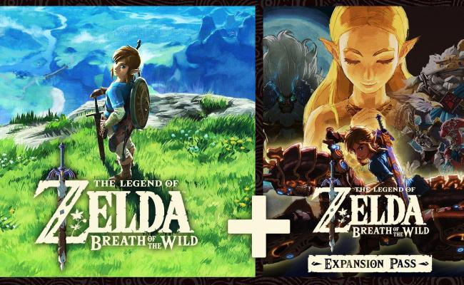 The Legend Of Zelda Breath Of The Wild And Expansion Pass