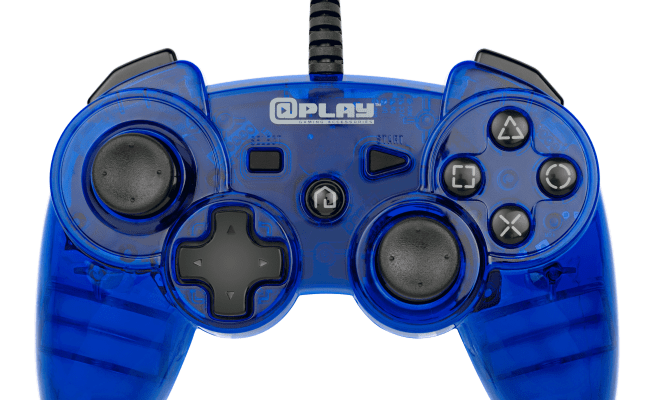 Playstation 3 Wired Controller Blue Playstation 3
