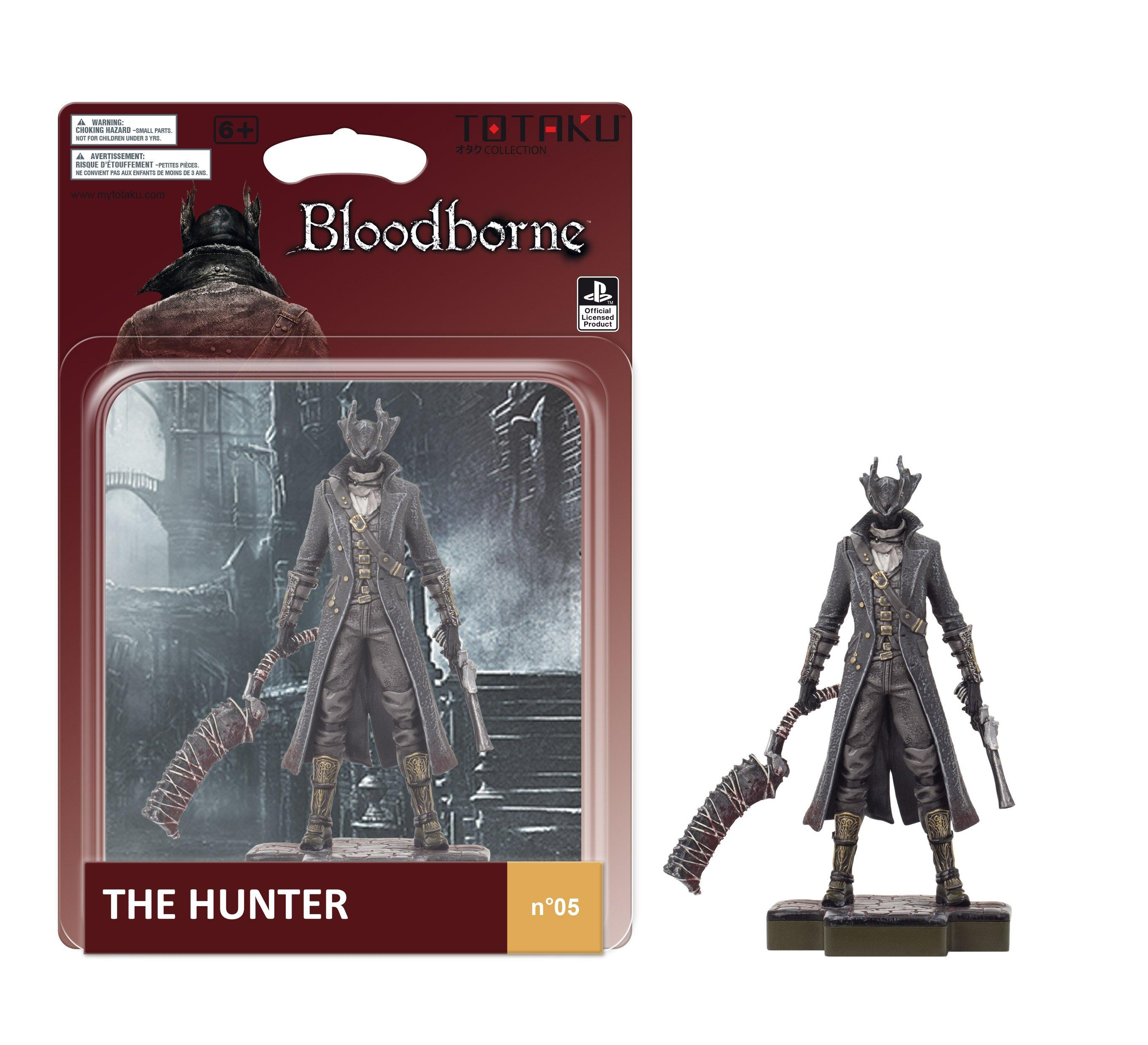 Totaku Collection Bloodborne Hunter Figure Only At