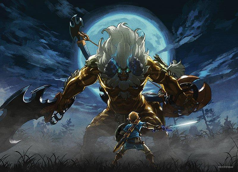 The Legend Of Zelda Breath Of The Wild Lynel Face Off