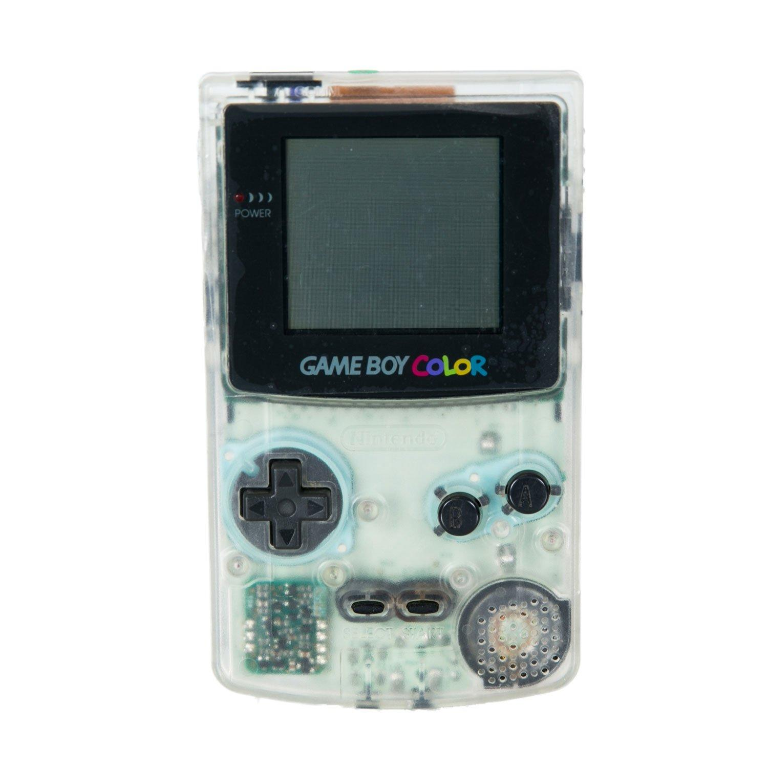 Game Boy Color Clear Ice Gamestop Premium Refurbished