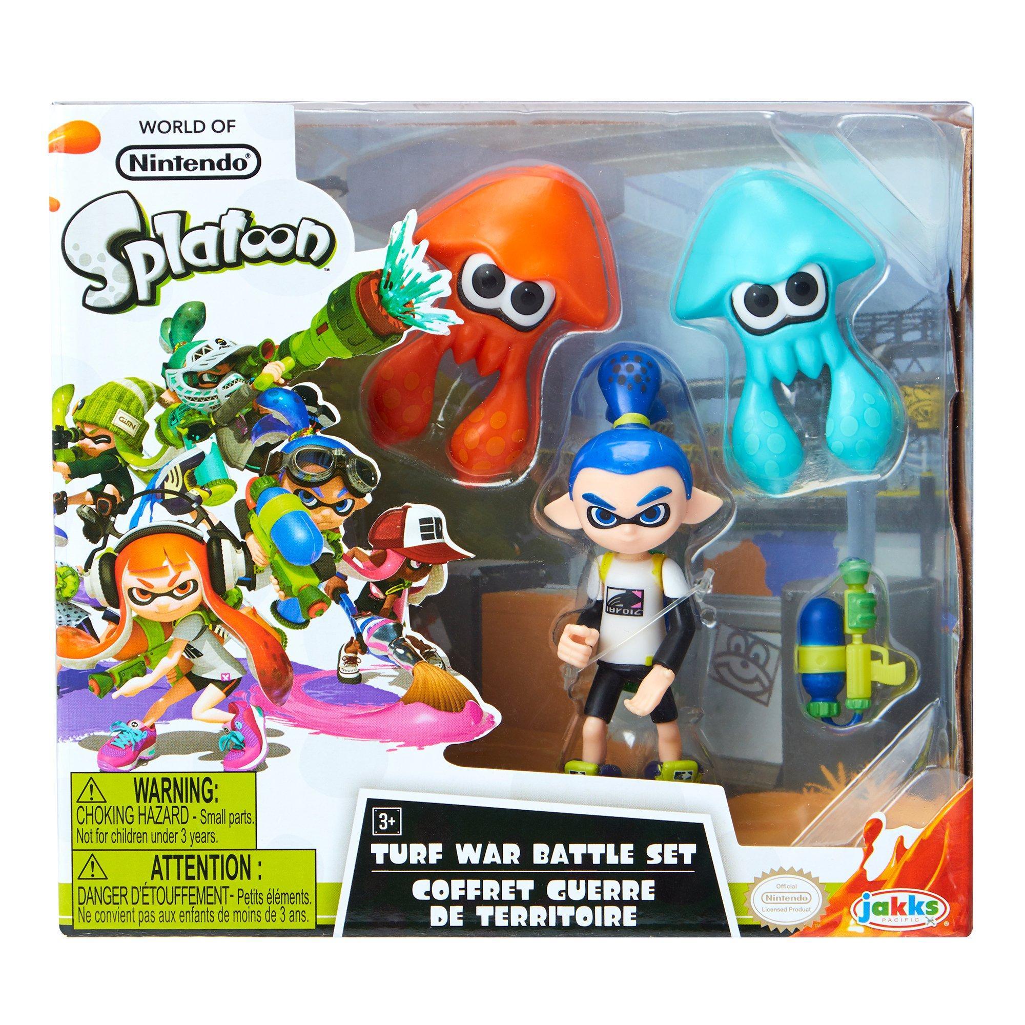 3 Pack Splatoon Action Figures Only At Gamestop Gamestop