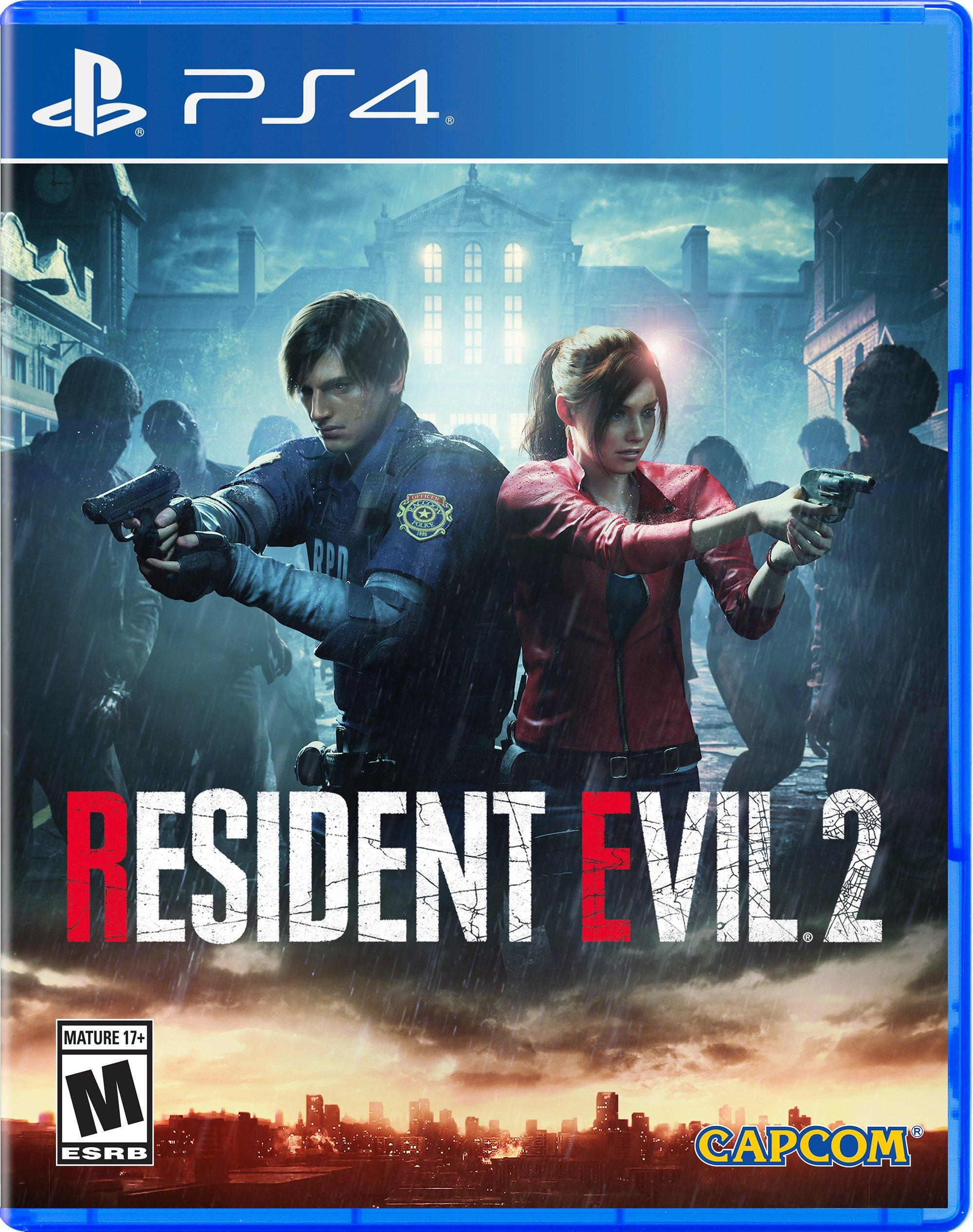 Resident Evil 2 Playstation 4 Gamestop