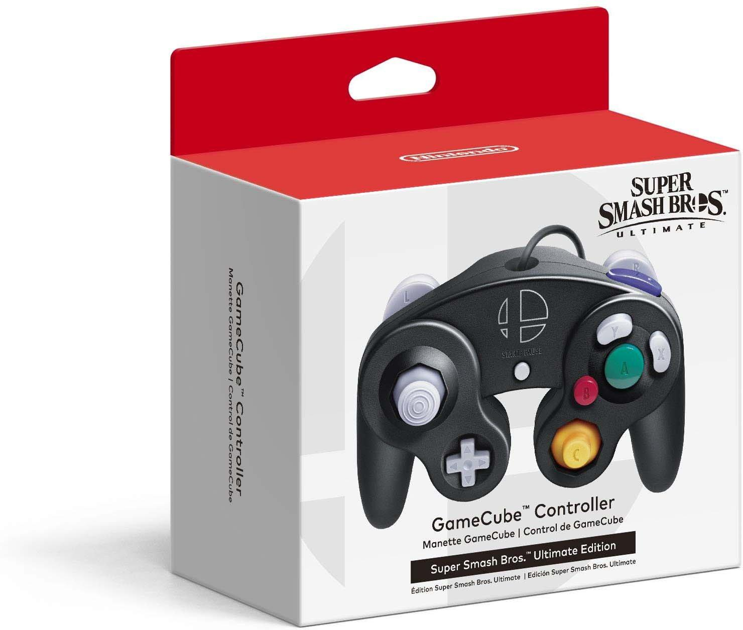 Super Smash Bros Ultimate Edition Gamecube Controller