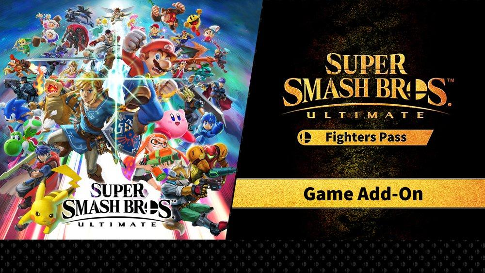 Super Smash Bros Ultimate Fighter Pass Bundle Nintendo