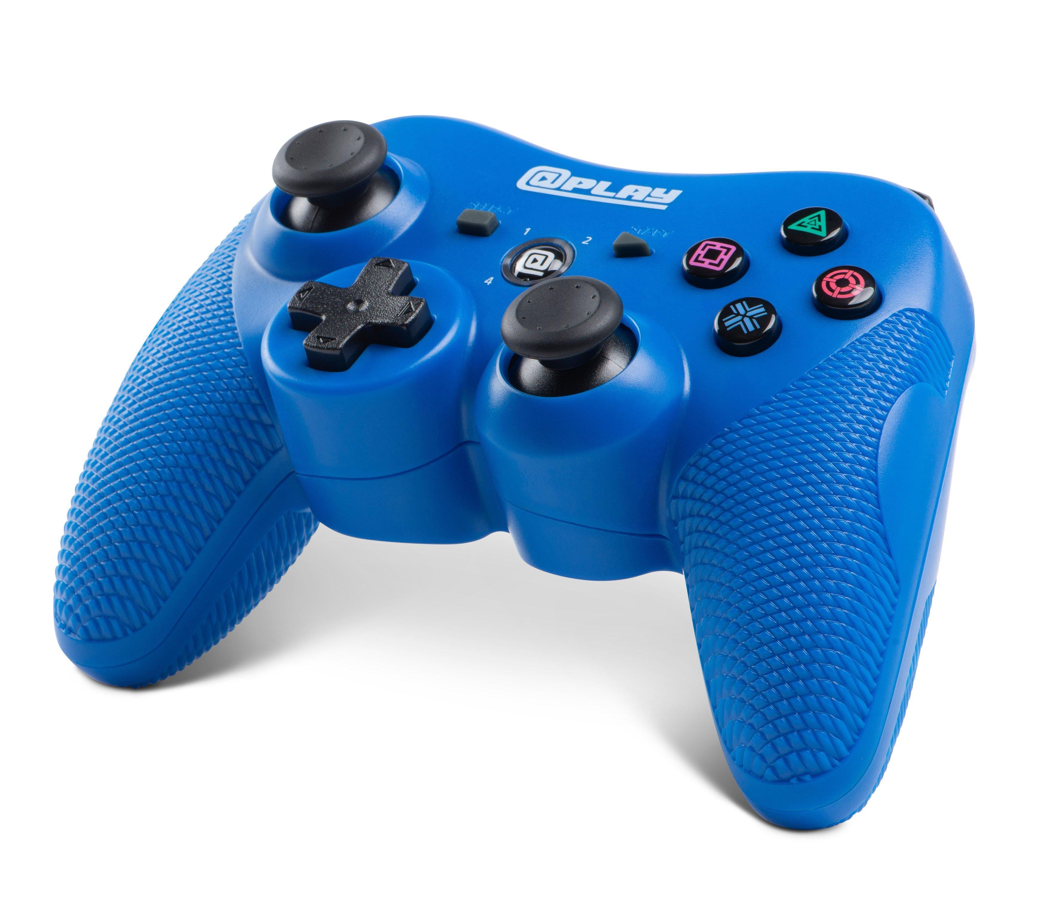 Ps3 Wireless Controller Blue Gamestop