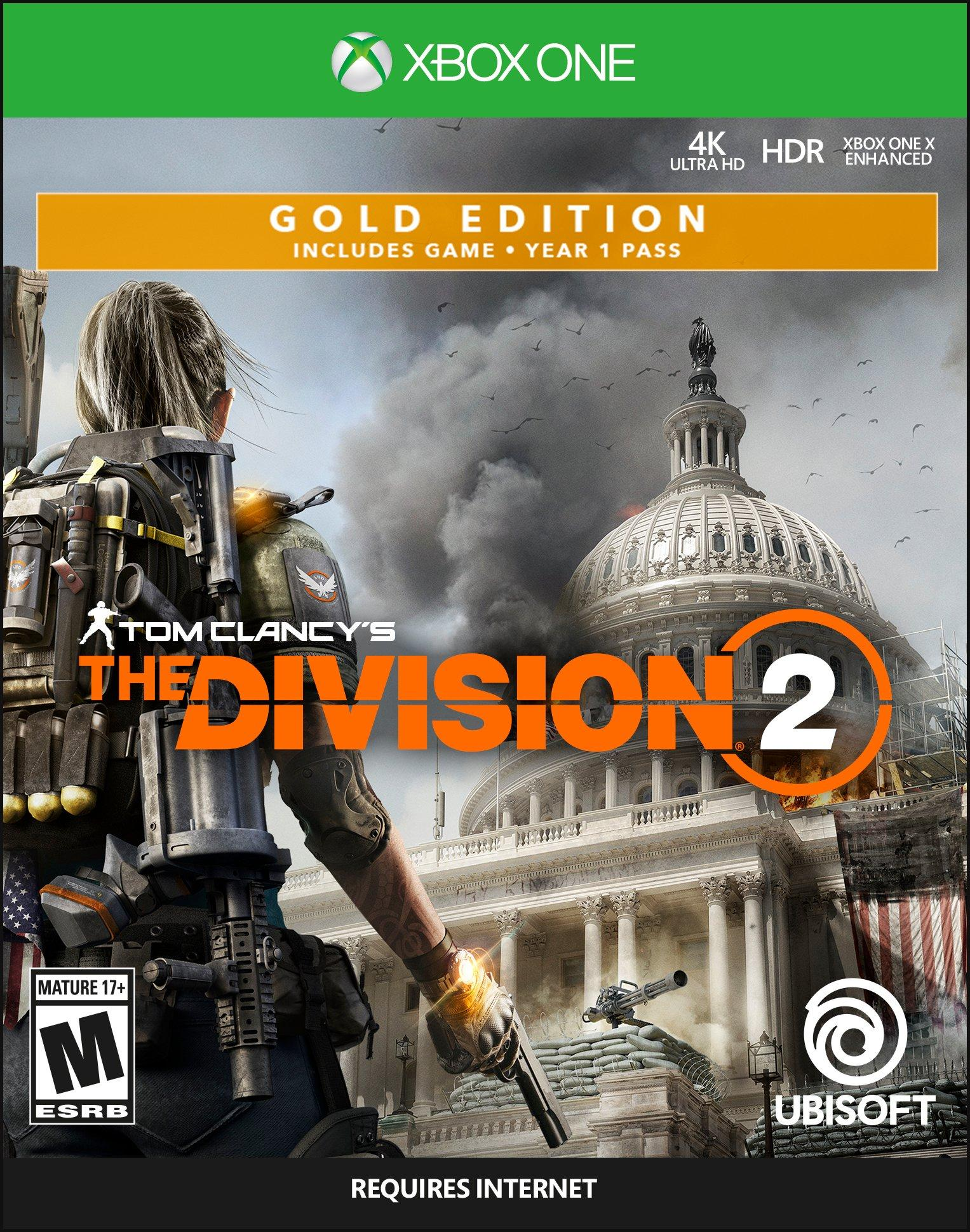 Tom Clancy S The Division 2 Steelbook Gold Edition Xbox
