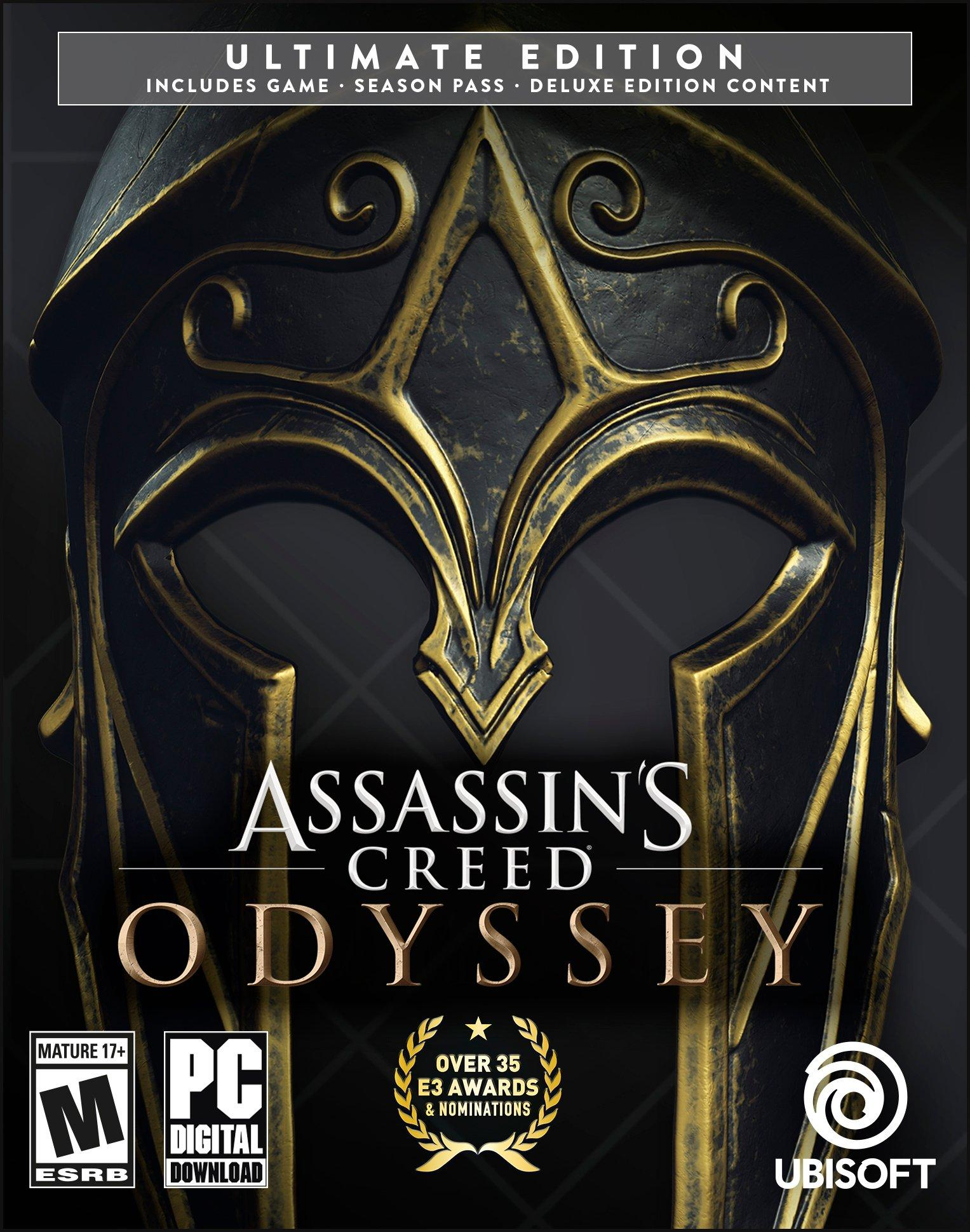 Assassin S Creed Odyssey Ultimate Edition Pc Gamestop
