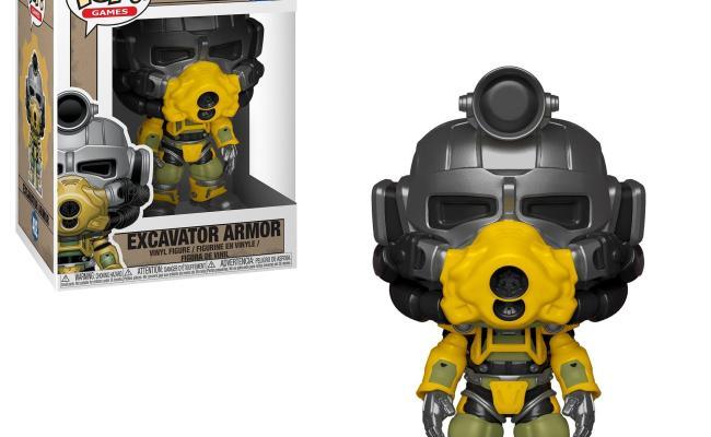 Pop Games Fallout 76 Excavator Armor Gamestop
