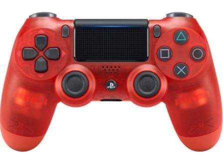 Ps4 Dualshock Crystal Red Controller Playstation 4