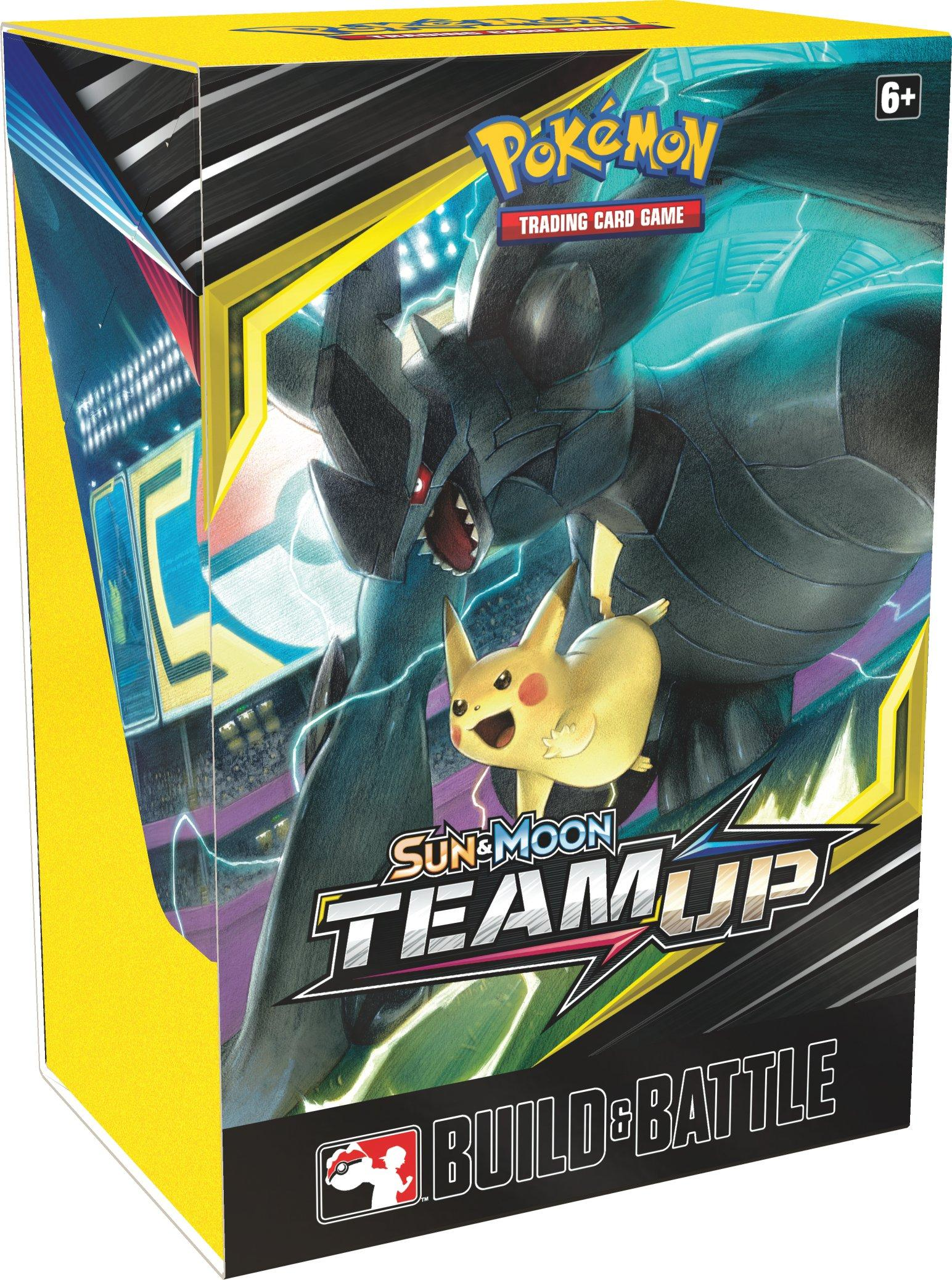 Pokemon Trading Card Game Sun And Moon Team Up Build And