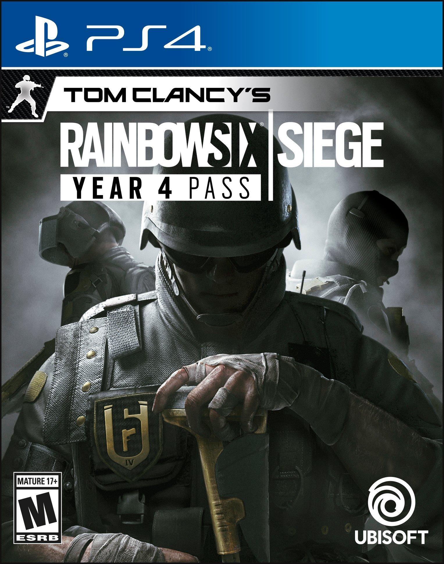 Tom Clancy S Rainbow 6 Siege Year 4 Pass Playstation 4