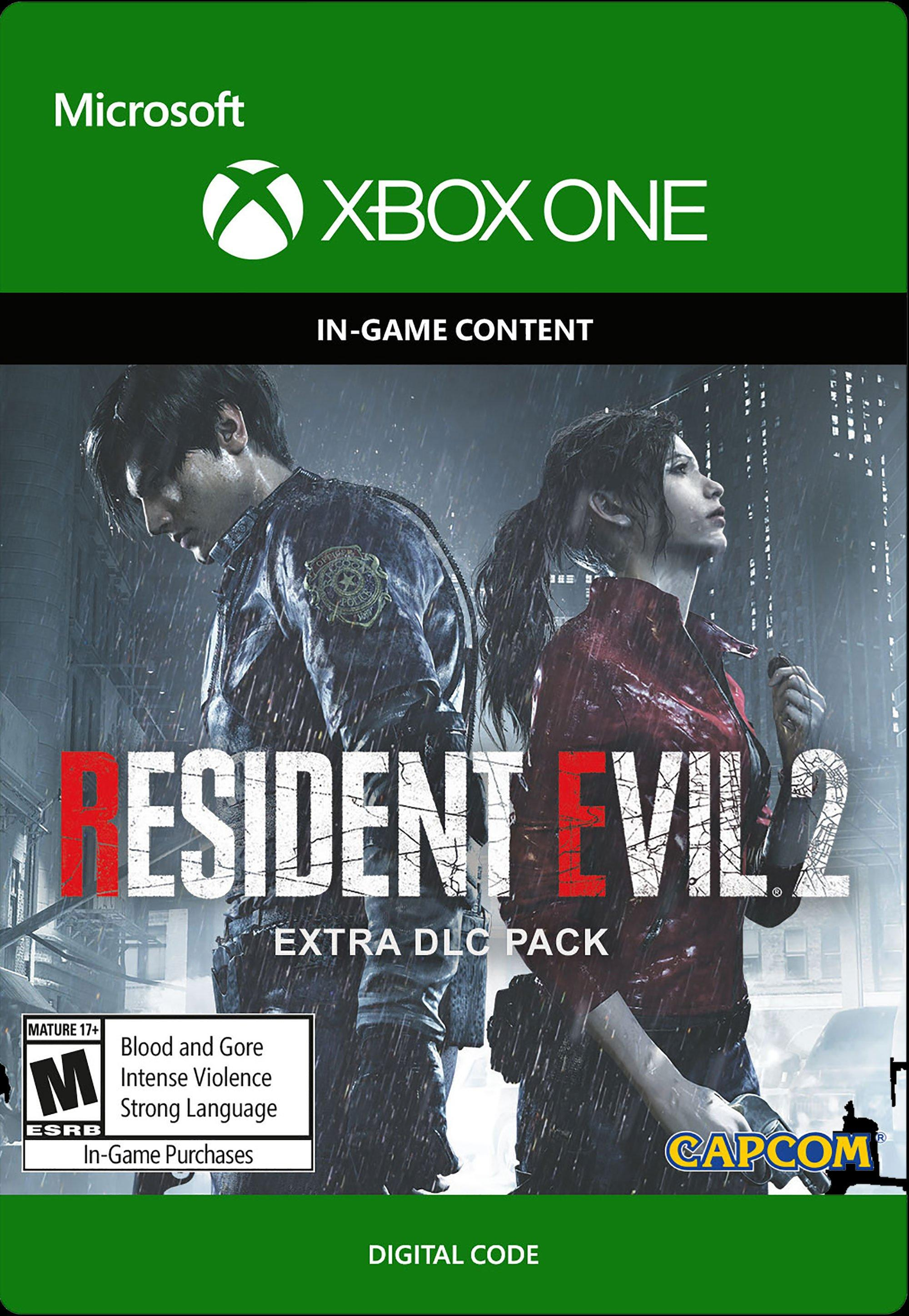 Resident Evil 2 Extra Dlc Pack Xbox One Gamestop