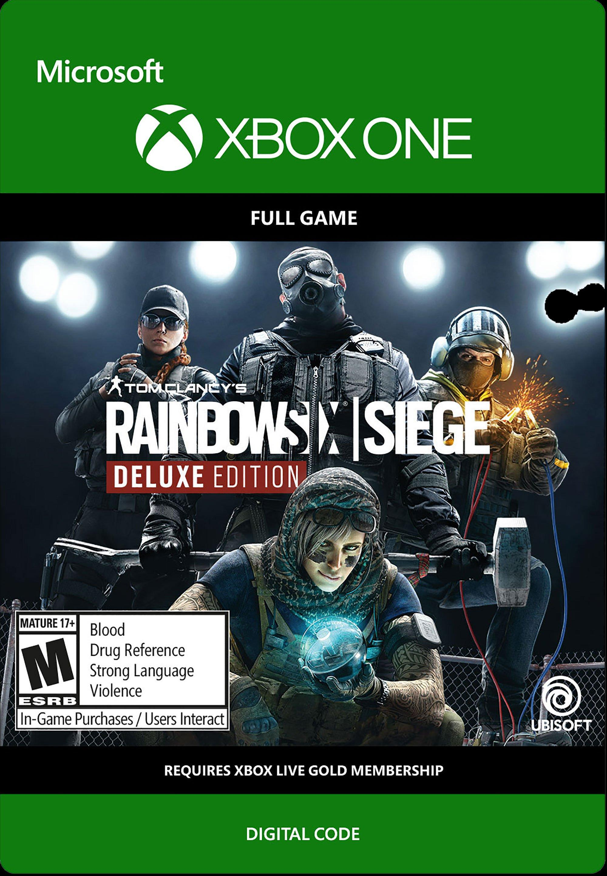 Tom Clancy S Rainbow Six Siege Year 4 Deluxe Edition