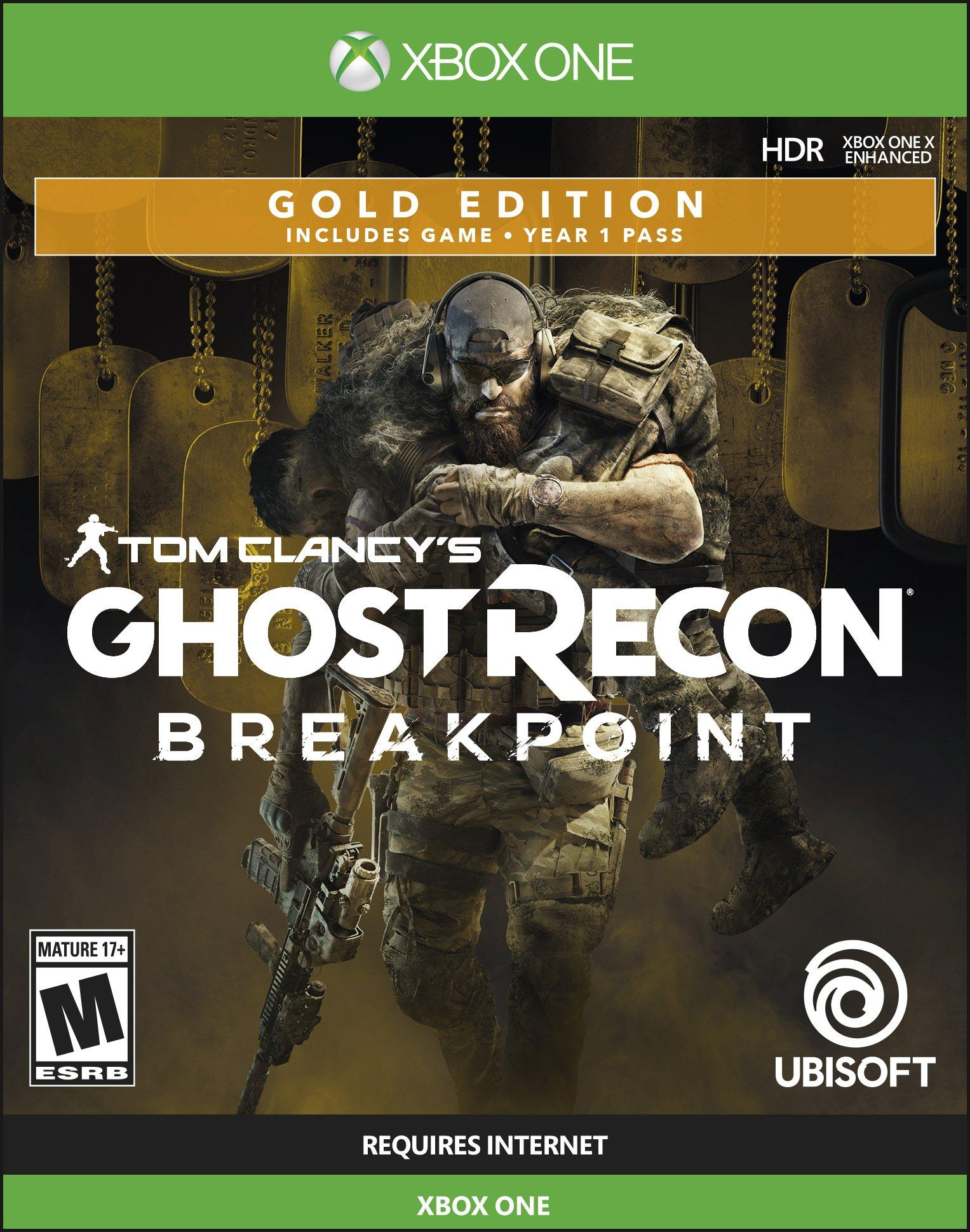 Tom Clancy S Ghost Recon Breakpoint Gold Edition Xbox