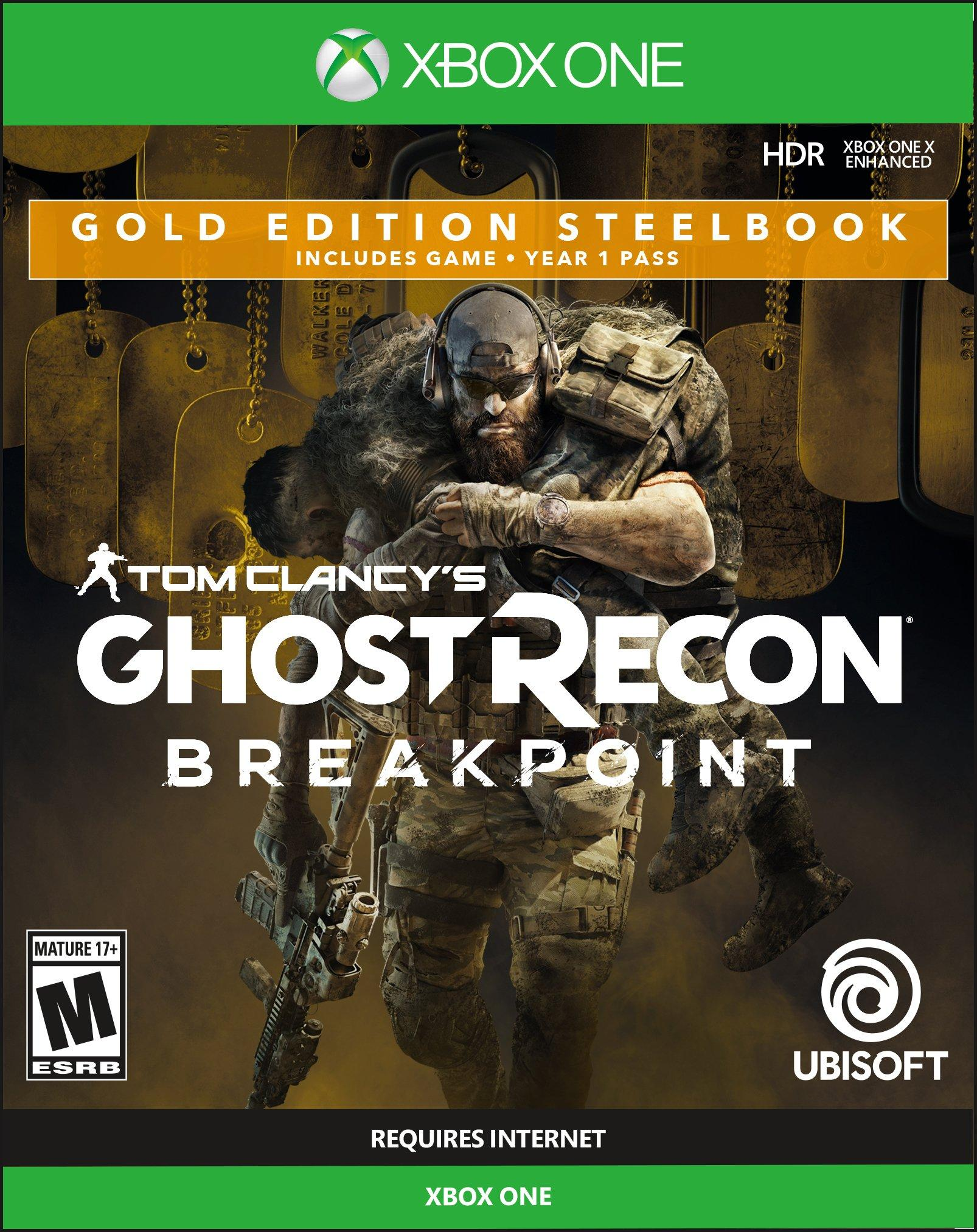 Tom Clancy S Ghost Recon Breakpoint Steelbook Gold Edition