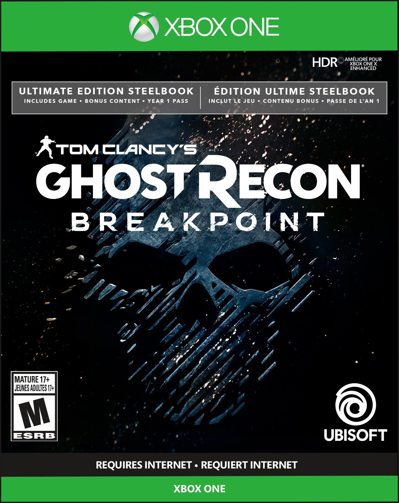 Tom Clancy S Ghost Recon Breakpoint Steelbook Ultimate