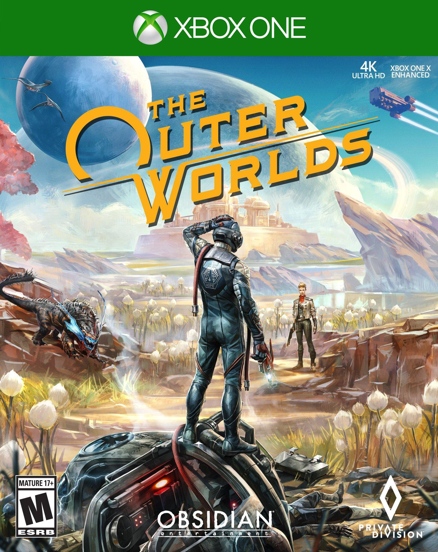 The Outer Worlds Xbox One Gamestop