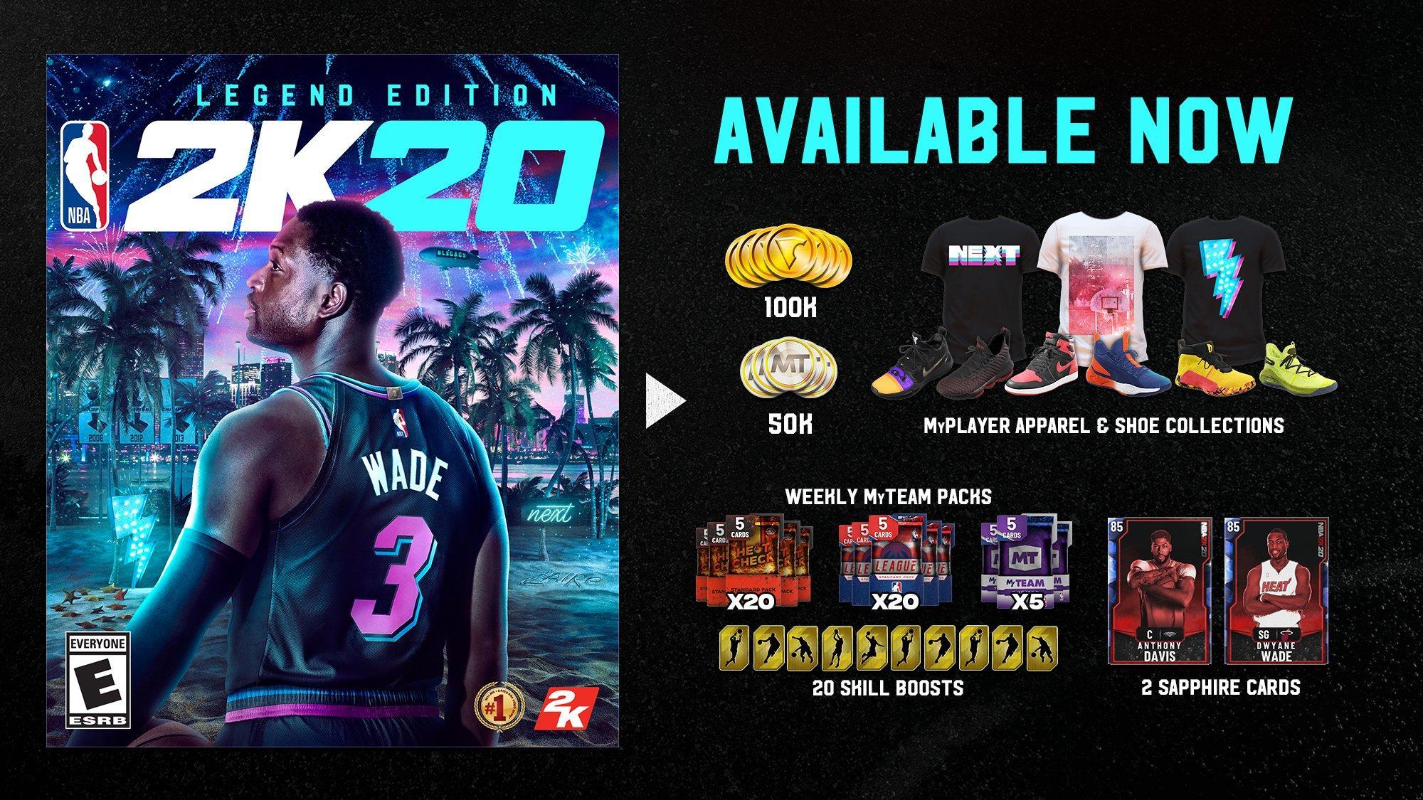 Nba 2k20 Legend Edition Xbox One Gamestop