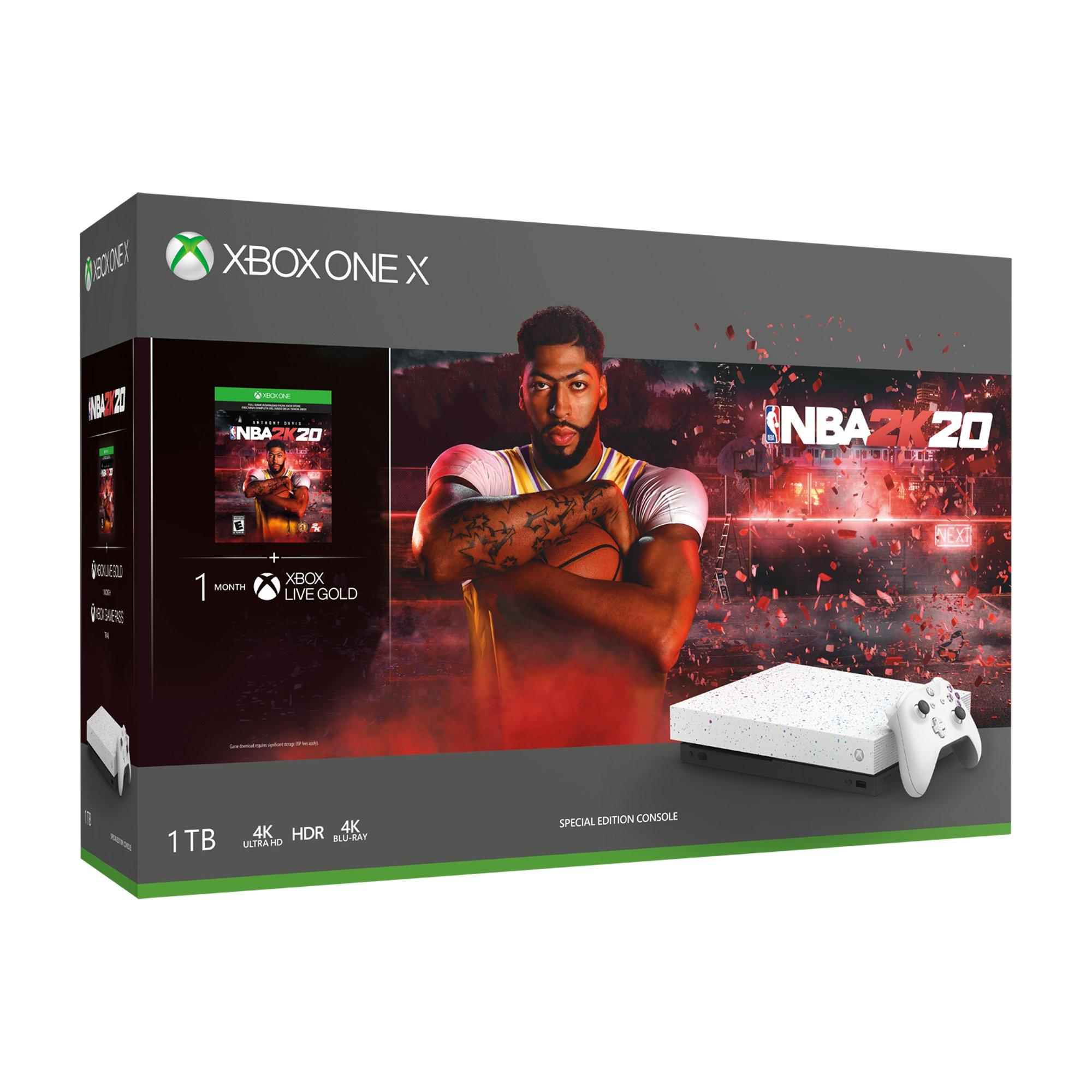 Xbox One X Nba 2k20 Special Edition 1tb Bundle Only At