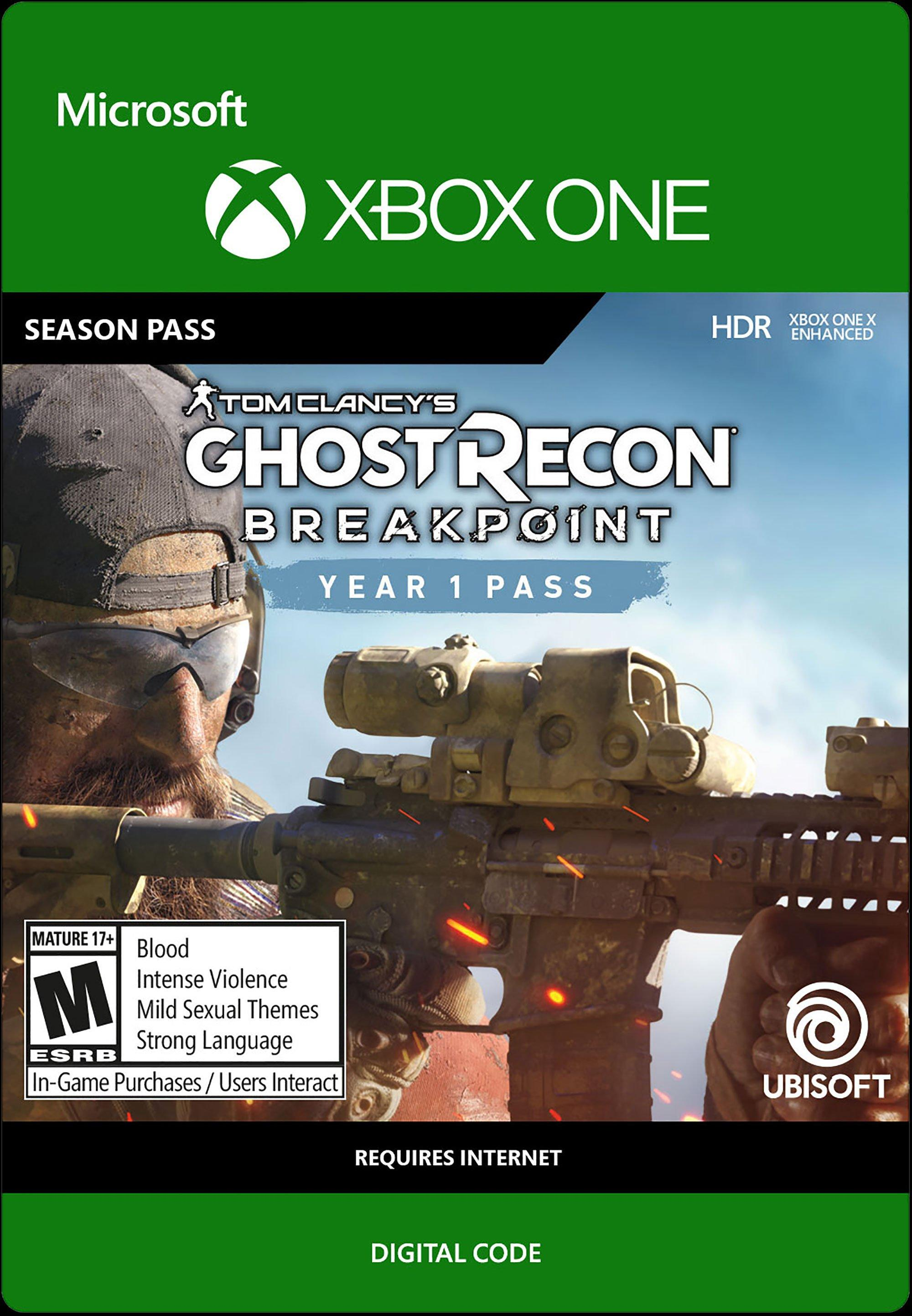 Tom Clancy S Ghost Recon Breakpoint Year 1 Pass Xbox One