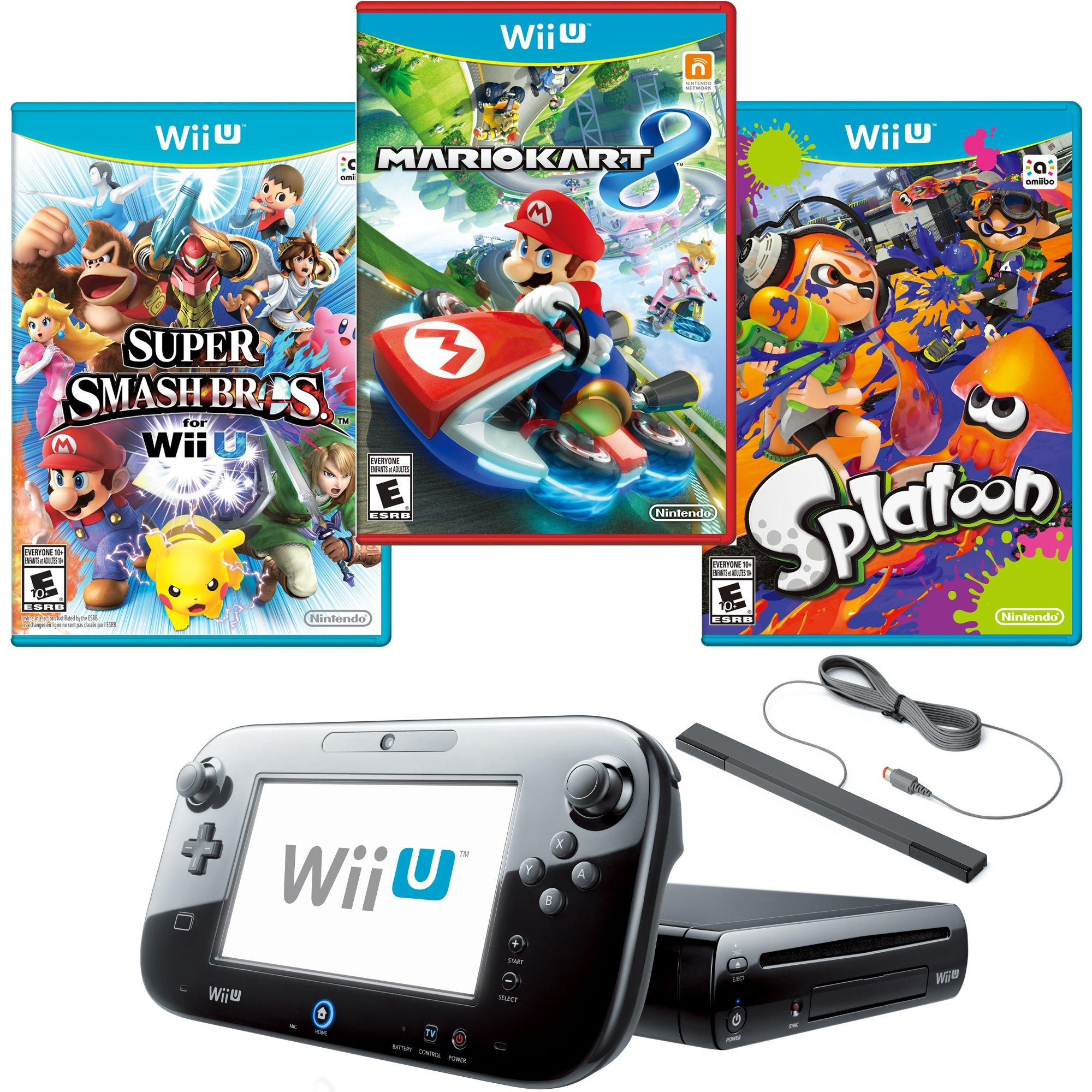 Wii U Ultimate Multiplayer Blast From The Past System
