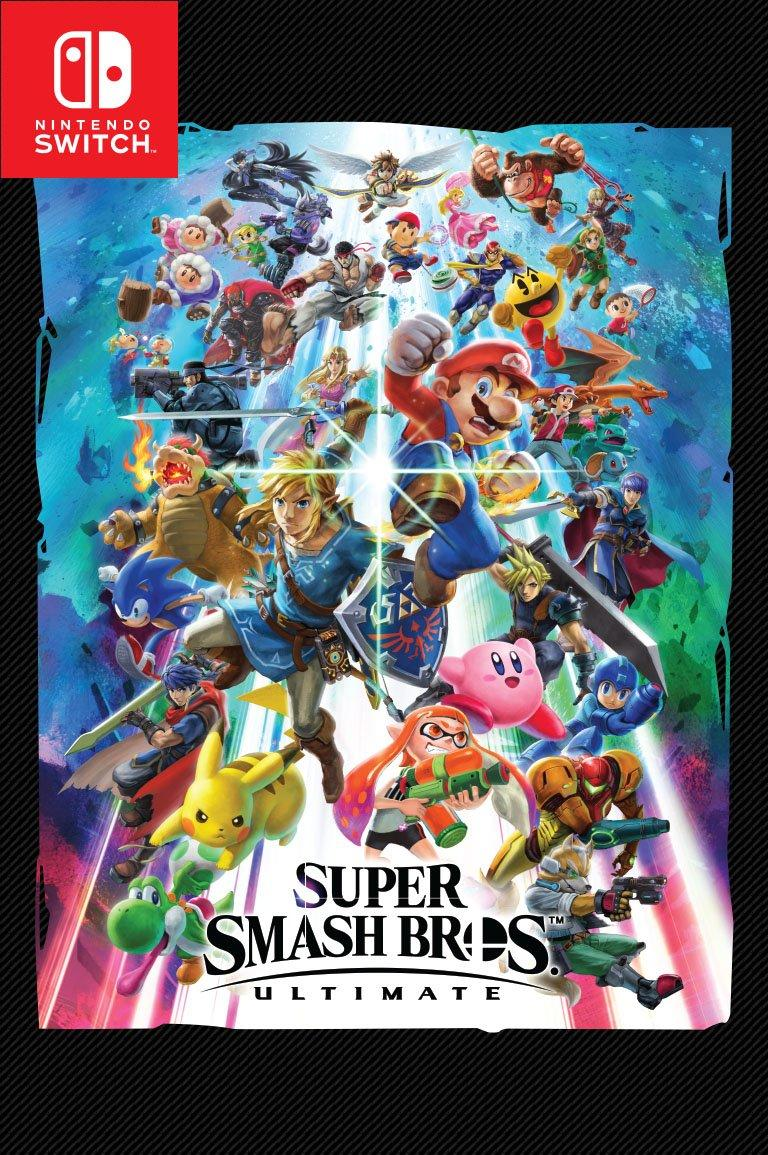 Super Smash Bros Ultimate For Switch Gamestop