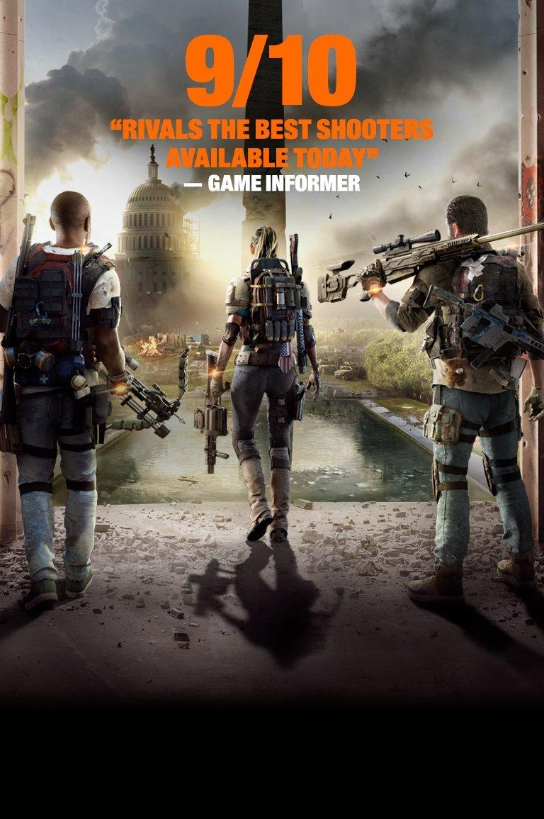 Tom Clancy S The Division 2 Xbox One Ps4 Gamestop