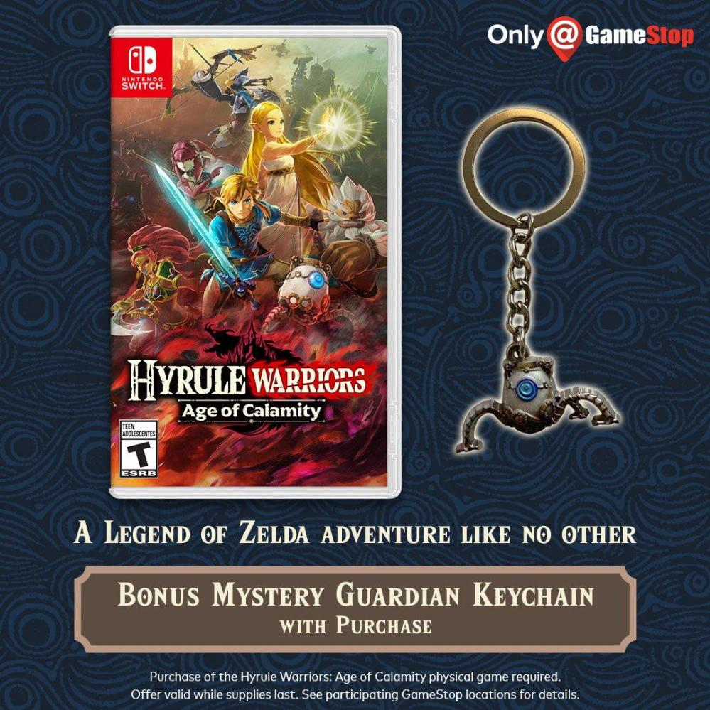 hyrule warriors age of calamity preorder bonus gamestop