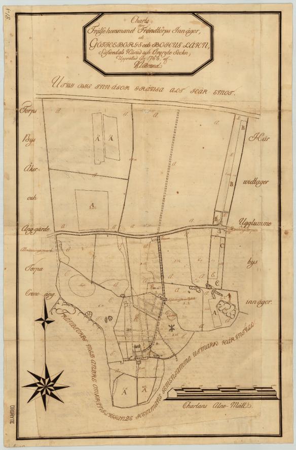 Fräntorps ägor 1768
