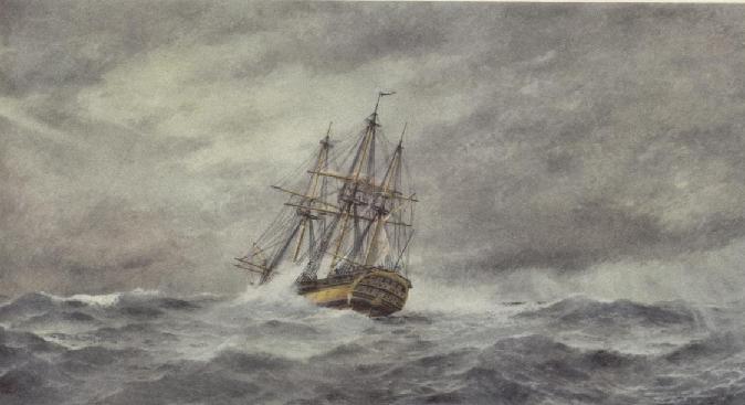 Oljemålning av Jacob Hägg 1921 med teckningen av Ekeberg som förlaga.