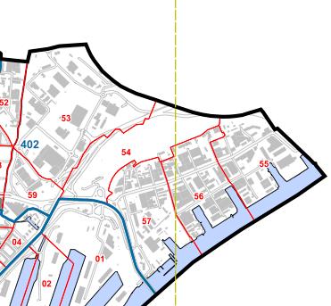 Tingstadsvass med Backaplan, Kvillebangården och Ringön